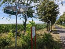 Auf dem Havelland-Radweg von Nauen nach Rathenow