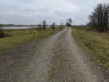 Auf dem Elberadweg von Wittenberge nach Rühstädt