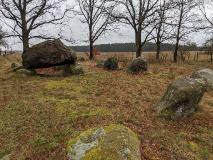 Großsteingrab in Mellen